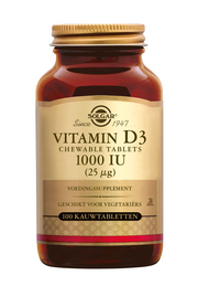 Vitamin D-3 1000 IU/25 mcg Chewable Tablets